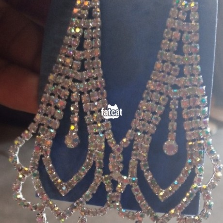 Classified Ads In Nigeria, Best Post Free Ads - ladies-earrings-in-oshodi-isolo-lagos-for-sale-big-0