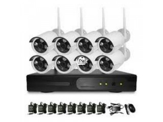 8 Channel wireless CCTV kit in Abuja, FCT for Sale