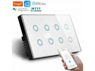 8 Gang Luxury Wifi Switch in Warri, Delta for Sale