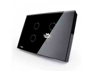 1, 2, 3, 4 Gang Smart Touch wall Switch in Warri, Delta for Sale