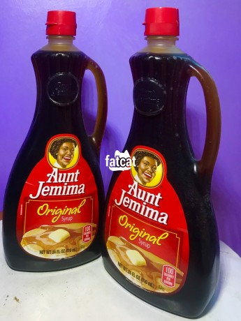 Classified Ads In Nigeria, Best Post Free Ads - aunt-jemima-pancake-syrup-in-isolo-lagos-for-sale-big-0