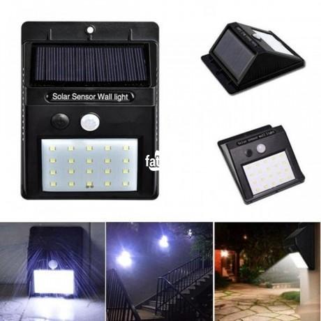 Classified Ads In Nigeria, Best Post Free Ads - solar-power-sensor-outdoor-light-in-ikeja-lagos-for-sale-big-1