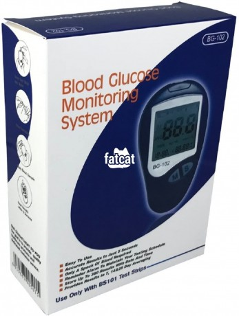 Classified Ads In Nigeria, Best Post Free Ads - bg-102-blood-glucose-monitoring-system-kit-in-ikeja-lagos-for-sale-big-0