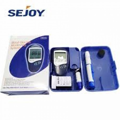 Classified Ads In Nigeria, Best Post Free Ads - bg-102-blood-glucose-monitoring-system-kit-in-ikeja-lagos-for-sale-big-2