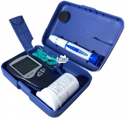 Classified Ads In Nigeria, Best Post Free Ads - bg-102-blood-glucose-monitoring-system-kit-in-ikeja-lagos-for-sale-big-1