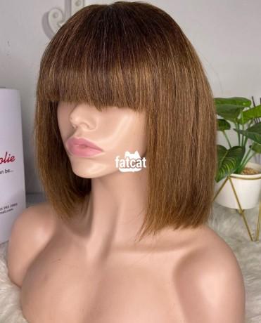 Classified Ads In Nigeria, Best Post Free Ads - fringe-bob-wig-100-human-hair-in-ojodu-lagos-for-sale-big-1