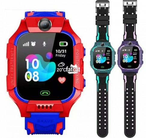 Classified Ads In Nigeria, Best Post Free Ads - kids-children-lbs-positioning-tracker-smart-watch-in-alimosho-for-sale-big-0