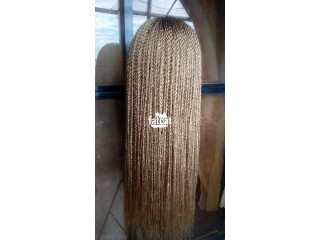 Honey Blonde Braided Wigs in Lagos Island, Lagos for Sale