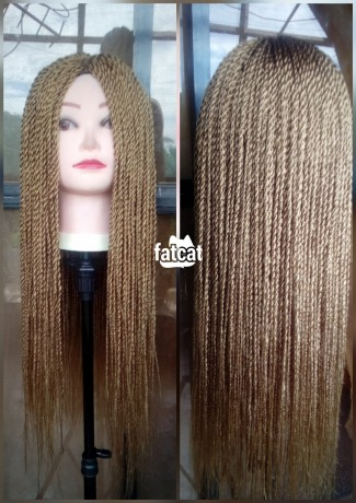 Classified Ads In Nigeria, Best Post Free Ads - honey-blonde-braided-wigs-in-lagos-island-lagos-for-sale-big-1