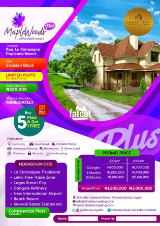 Classified Ads In Nigeria, Best Post Free Ads - 100-dry-plots-of-land-in-ibeju-lekki-lagos-for-sale-big-0