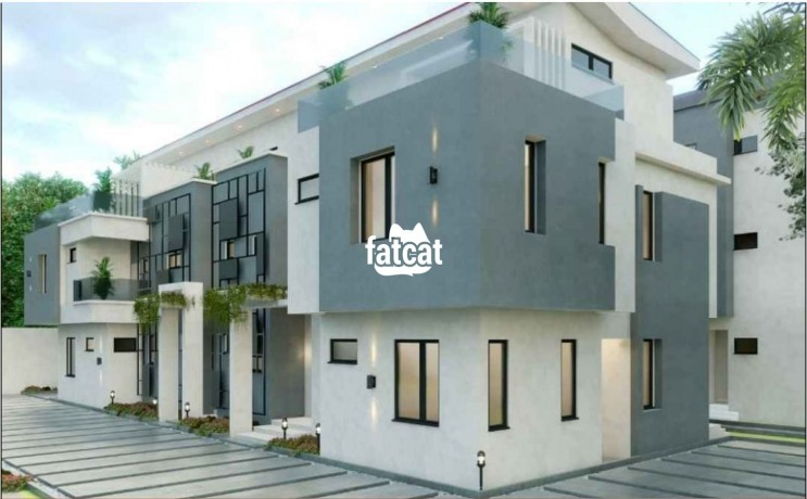 Classified Ads In Nigeria, Best Post Free Ads - 4-bedroom-semi-detached-duplex-in-sangotedo-lagos-for-sale-big-1