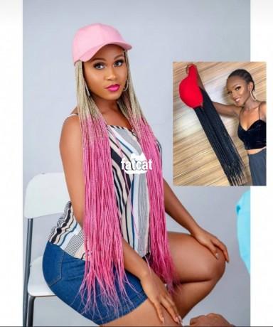 Classified Ads In Nigeria, Best Post Free Ads - women-baseball-cap-wig-hat-braided-wig-in-lagos-island-lagos-for-sale-big-0