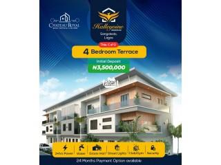 4 Bedroom Terraced Duplex in Sangotedo, Lagos for Sale