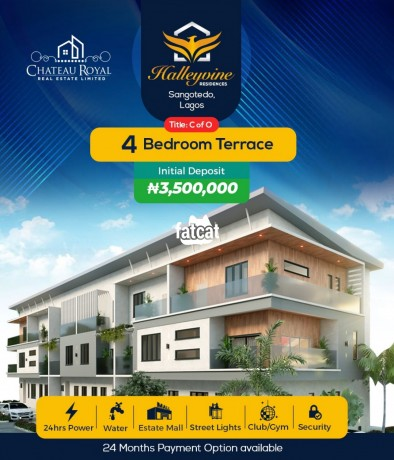 Classified Ads In Nigeria, Best Post Free Ads - 4-bedroom-terraced-duplex-in-sangotedo-lagos-for-sale-big-0