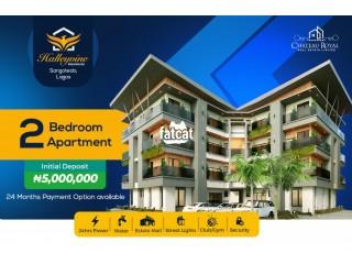 Large 1 Bedroom Lofty Apartment in Sangotedo, Lagos for Sale