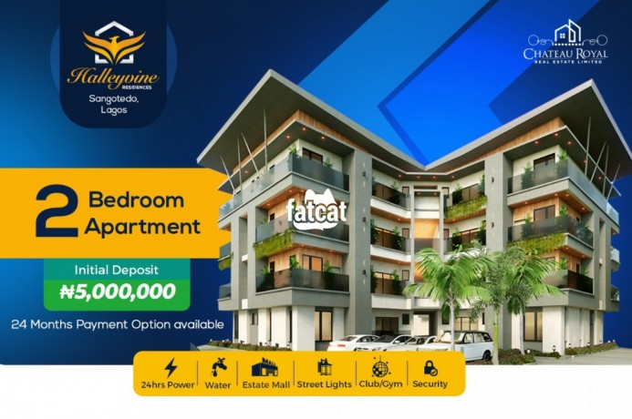 Classified Ads In Nigeria, Best Post Free Ads - large-1-bedroom-lofty-apartment-in-sangotedo-lagos-for-sale-big-0