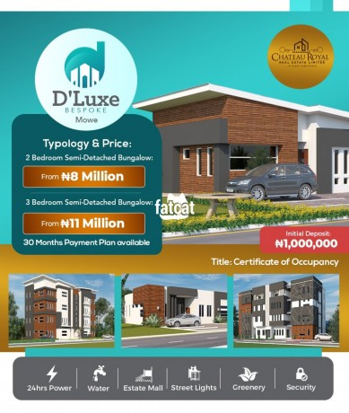 Classified Ads In Nigeria, Best Post Free Ads - 3-bedroom-semi-detached-bungalow-in-mowe-lagos-for-sale-big-0