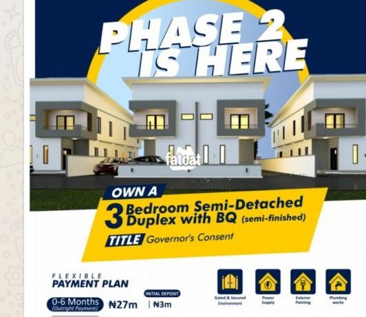Classified Ads In Nigeria, Best Post Free Ads - 3-bedroom-semi-detached-duplex-in-ibeju-lagos-for-sale-big-0