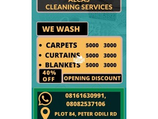 Rugs, Curtains, Blankets Cleaning Service in Port-Harcourt