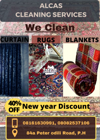 Classified Ads In Nigeria, Best Post Free Ads - rugs-curtains-blankets-cleaning-service-in-port-harcourt-big-1