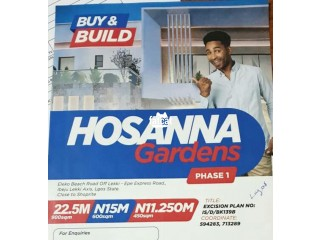 Plots of Land Available at Hosanna Gardens Estate Beside Amen Estate Phase 1