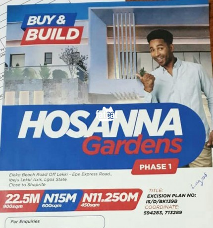 Classified Ads In Nigeria, Best Post Free Ads - plots-of-land-available-at-hosanna-gardens-estate-beside-amen-estate-phase-1-big-0