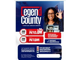 Plots of Land in Legend County Estate, Ogombo Road, Lagos for Sale