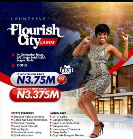 Classified Ads In Nigeria, Best Post Free Ads - plots-of-land-in-flourish-city-estate-ibeju-lekki-lagos-for-sale-big-0