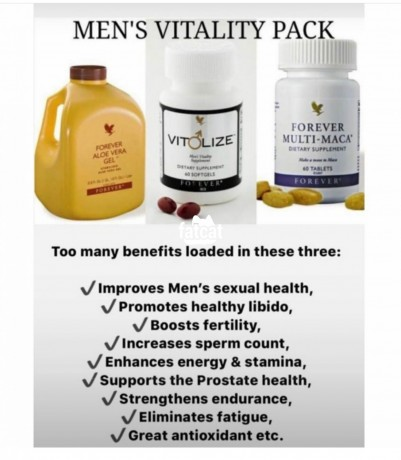 Classified Ads In Nigeria, Best Post Free Ads - forever-men-vitality-pack-in-lagos-for-sale-big-1