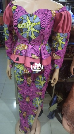 Classified Ads In Nigeria, Best Post Free Ads - peplum-ankara-skirt-and-blouse-in-abuja-fct-for-sale-big-0