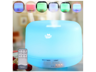 Ultrasonic Aromatherapy Humidifier (300ml) with Remote Control