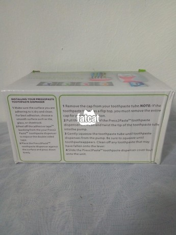 Classified Ads In Nigeria, Best Post Free Ads - toothpaste-dispenser-and-toothbrush-holder-in-lagos-for-sale-big-4