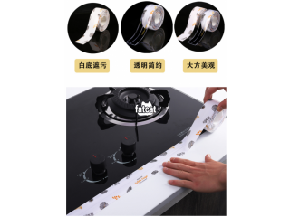 Self-Adhesive Caulk Strip Moisture-Proof Anti-Mold Kitchen & Bathroom Seal Tape - Transparent or Designed in Abuja, FCT for Sale