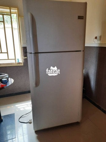 Classified Ads In Nigeria, Best Post Free Ads - double-door-fridge-with-ice-maker-in-kuje-abuja-for-sale-big-0