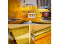 self-adhesive-oil-proof-fireproof-kitchen-aluminum-stickers-60cm-x-5m-gold-in-abuja-fct-for-sale-small-0