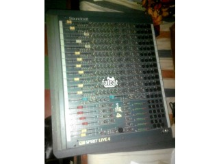 Soundcraft Spirit Audio Mixer 4 Live in Lagos for Sale