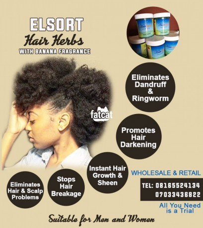 Classified Ads In Nigeria, Best Post Free Ads - elsort-hair-cream-in-surulere-lagos-for-sale-big-0