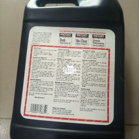 Classified Ads In Nigeria, Best Post Free Ads - ridgid-70835-thread-cutting-oil-1-gallon-in-port-harcourt-rivers-for-sale-big-1