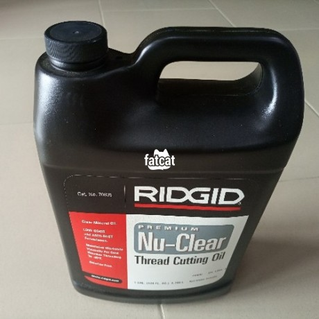 Classified Ads In Nigeria, Best Post Free Ads - ridgid-70835-thread-cutting-oil-1-gallon-in-port-harcourt-rivers-for-sale-big-0