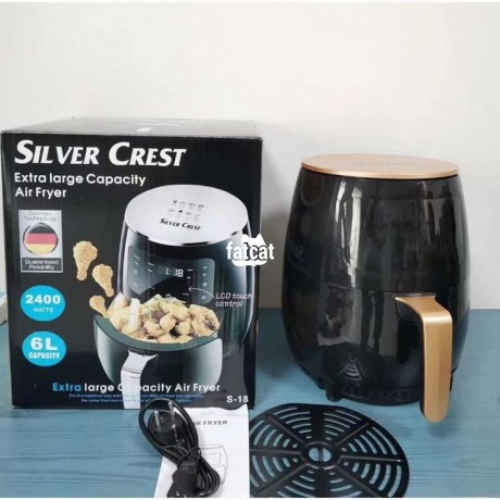Classified Ads In Nigeria, Best Post Free Ads - silver-crest-6-litres-digital-air-fryer-in-ojo-lagos-for-sale-big-0