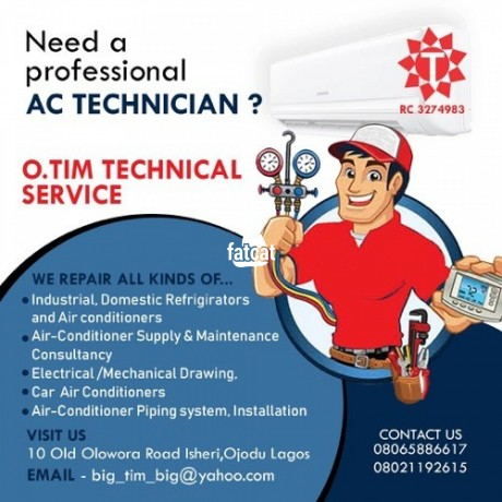 Classified Ads In Nigeria, Best Post Free Ads - install-repair-and-service-your-air-conditioner-in-ojodu-lagos-big-0