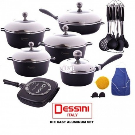 Classified Ads In Nigeria, Best Post Free Ads - dessini-23-pieces-pot-cookware-set-in-ojo-lagos-for-sale-big-0