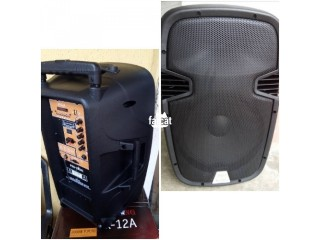 Rechargeable PA System with Wireless Mics