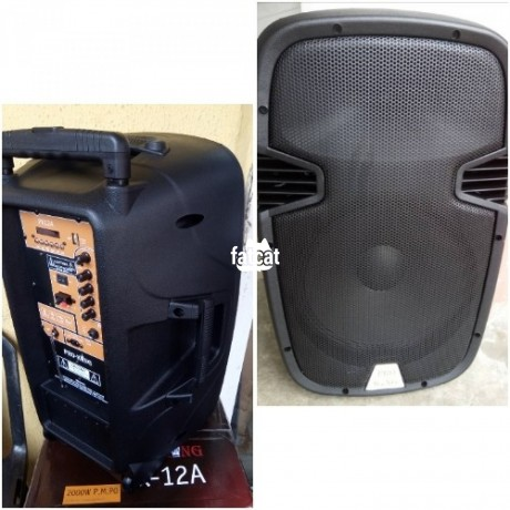 Classified Ads In Nigeria, Best Post Free Ads - rechargeable-pa-system-with-wireless-mics-in-asaba-delta-for-sale-big-0