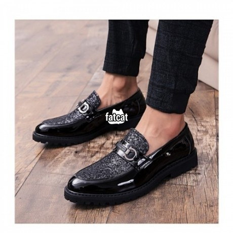 Classified Ads In Nigeria, Best Post Free Ads - men-patent-leather-trendy-shoe-in-abuja-fct-for-sale-big-0