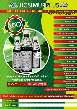 Classified Ads In Nigeria, Best Post Free Ads - jigsimur-plus-herbal-drink-in-lagos-for-sale-big-3