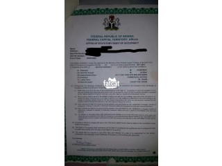 5000sqm of Land in Durumi, (Abuja) FCT for Sale