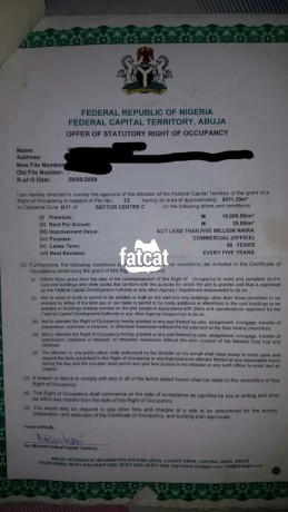 Classified Ads In Nigeria, Best Post Free Ads - 5000sqm-of-land-in-durumi-abuja-for-sale-big-0