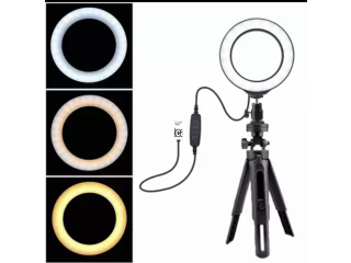 6 Inches Ring Light with Dimmable Light in Ojo, Lagos for Sale