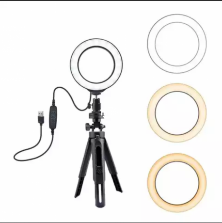 Classified Ads In Nigeria, Best Post Free Ads - 6-inches-ring-light-with-dimmable-light-in-ojo-lagos-for-sale-big-1